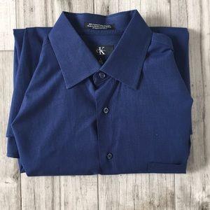 🆕 Calvin Klein CK Button Down Dress Shirt Size L
